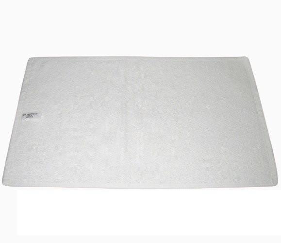 Полотенце махровые хлопковые белые Турция 480 г/м2 без бордюра Для рук и лица, 480, 50х90 см, Турция