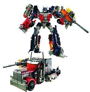 Трансфомер Оптимус Прайм с пушкой-топором- Optimus Prime, TF3, Voyager, MechTech, Hasbro