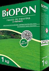 Удобрение для газона со мхом BIOPON 1 кг