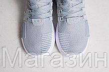 Мужские кроссовки adidas EQT Support Basket Adv Grey Aдидас серые, фото 3