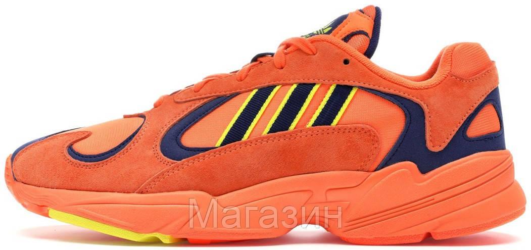 Мужские кроссовки adidas Yung-1 Orange Адидас Янг 1 оранжевые