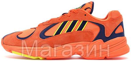 Мужские кроссовки adidas Yung-1 Orange Адидас Янг 1 оранжевые, фото 2