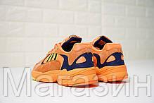 Мужские кроссовки adidas Yung-1 Orange Адидас Янг 1 оранжевые, фото 3