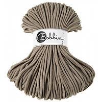 Шнур хлопковый Bobbiny 5 мм, цвет Кофейный