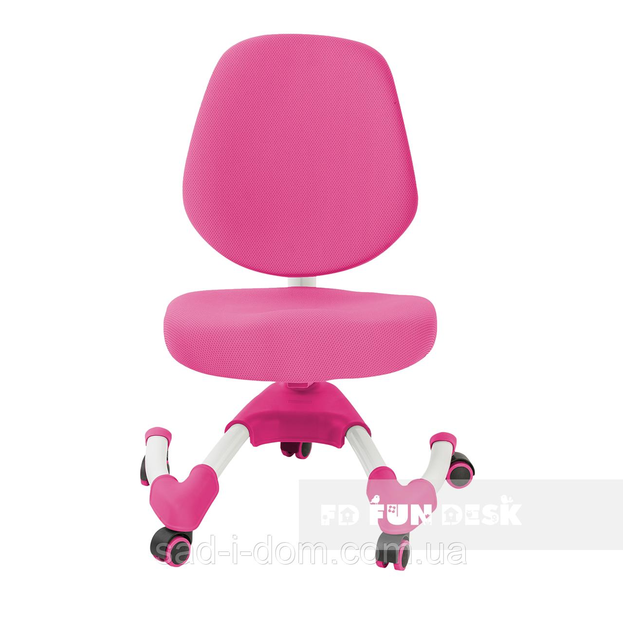 Детское компьютерное ортопедическое кресло  FunDesk Buono розовый