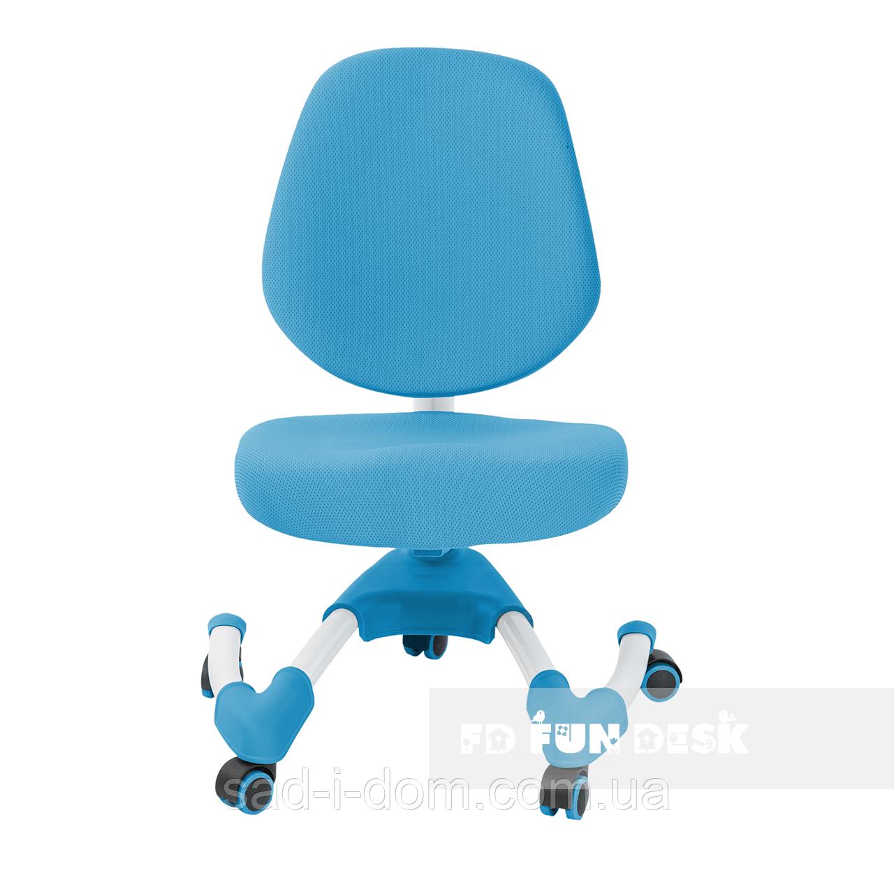 Детское компьютерное ортопедическое кресло  FunDesk Buono голубой