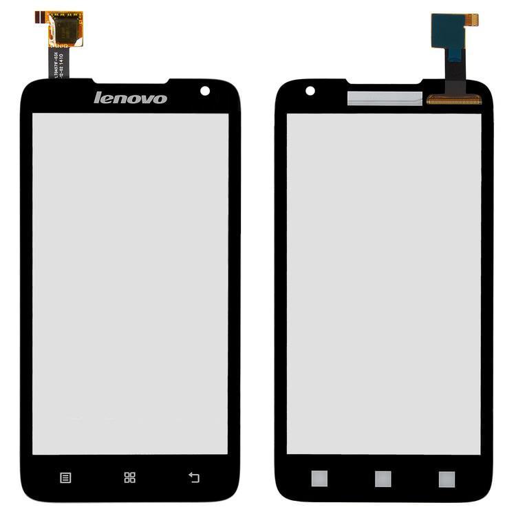 Сенсорный экран (тачскрин) Lenovo A526 черный