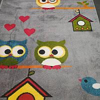 Ковер детский Kolibri 1.2x1.7 совы, фото 1