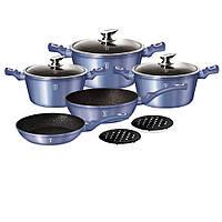 Berlinger Haus (BH 1658N) - Metallic Line Royal Blue Edition Набор Посуды, фото 1