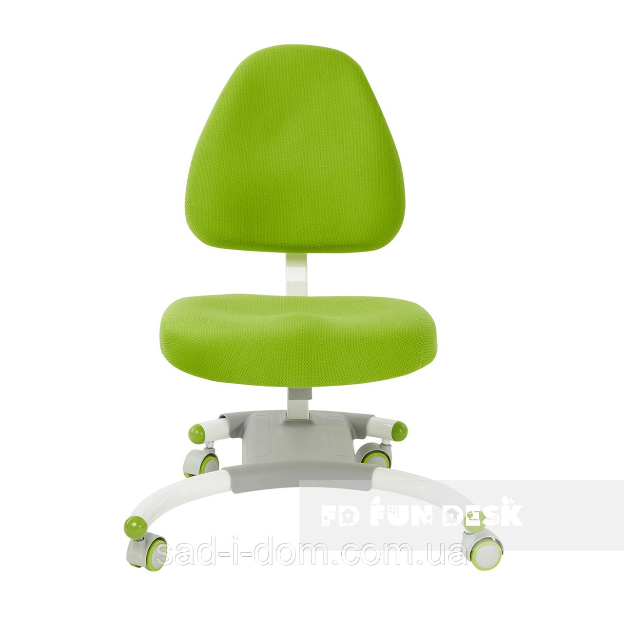 Детское компьютерное ортопедическое кресло FunDesk Ottimo, зеленый