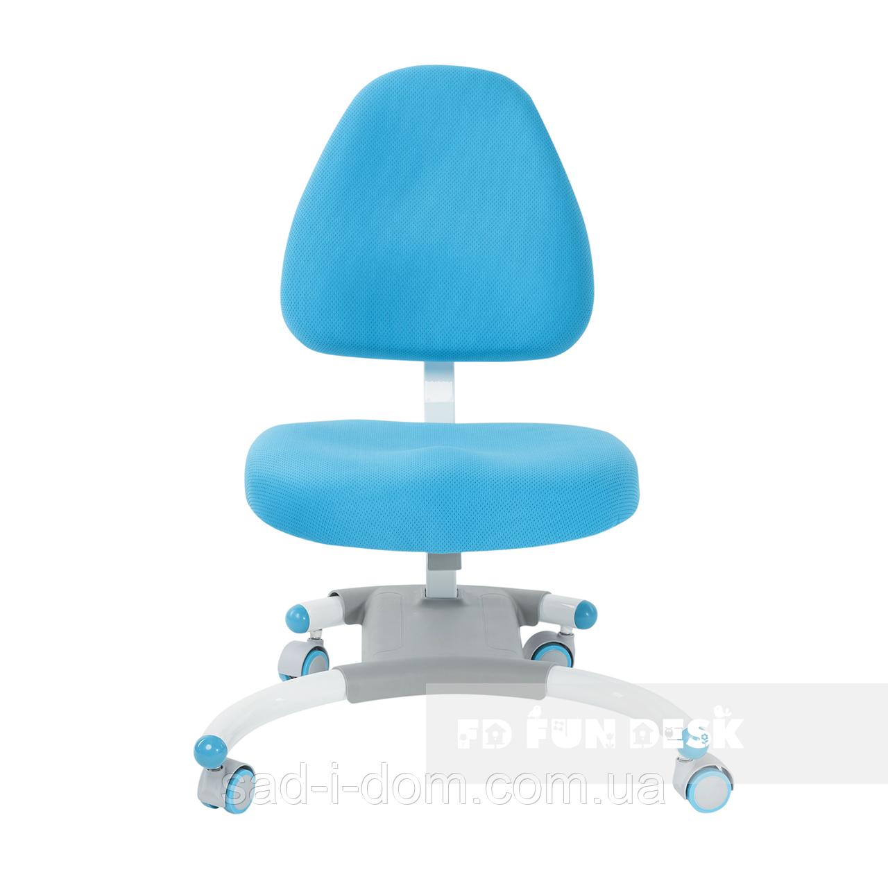 Детское компьютерное ортопедическое кресло FunDesk Ottimo, голубое