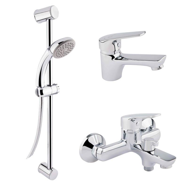 Набор смесителей для ванны QT Set CRM 35-111 16511 Q-TAP
