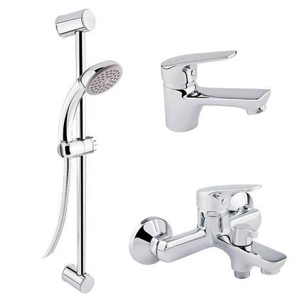 Набор смесителей для ванны QT Set CRM 35-111 16511 Q-TAP, фото 2