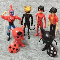 Игрушки фигурки Леди Баг и Супер-кот / Miraculous Ladybug and Cat