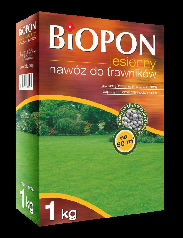 Осенне удобрение для газона BIOPON 1 кг