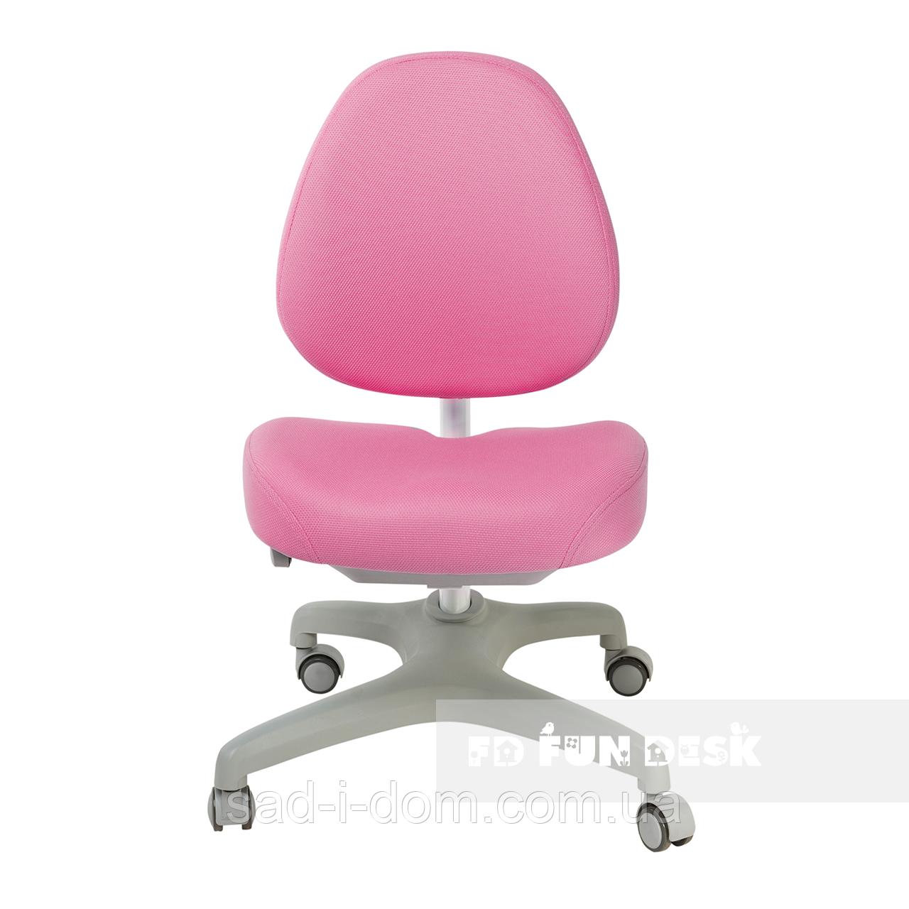 Детское компьютерное ортопедическое кресло FunDesk Bello ,I розовое