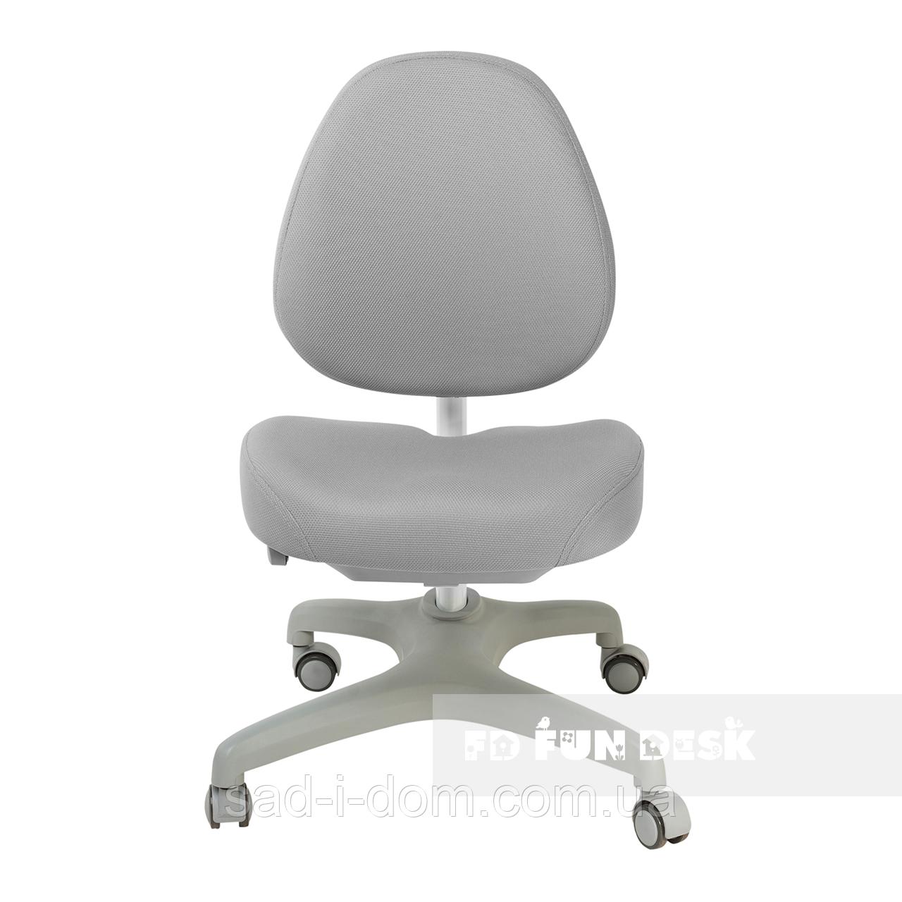 Детское компьютерное ортопедическое кресло FunDesk Bello I, серое