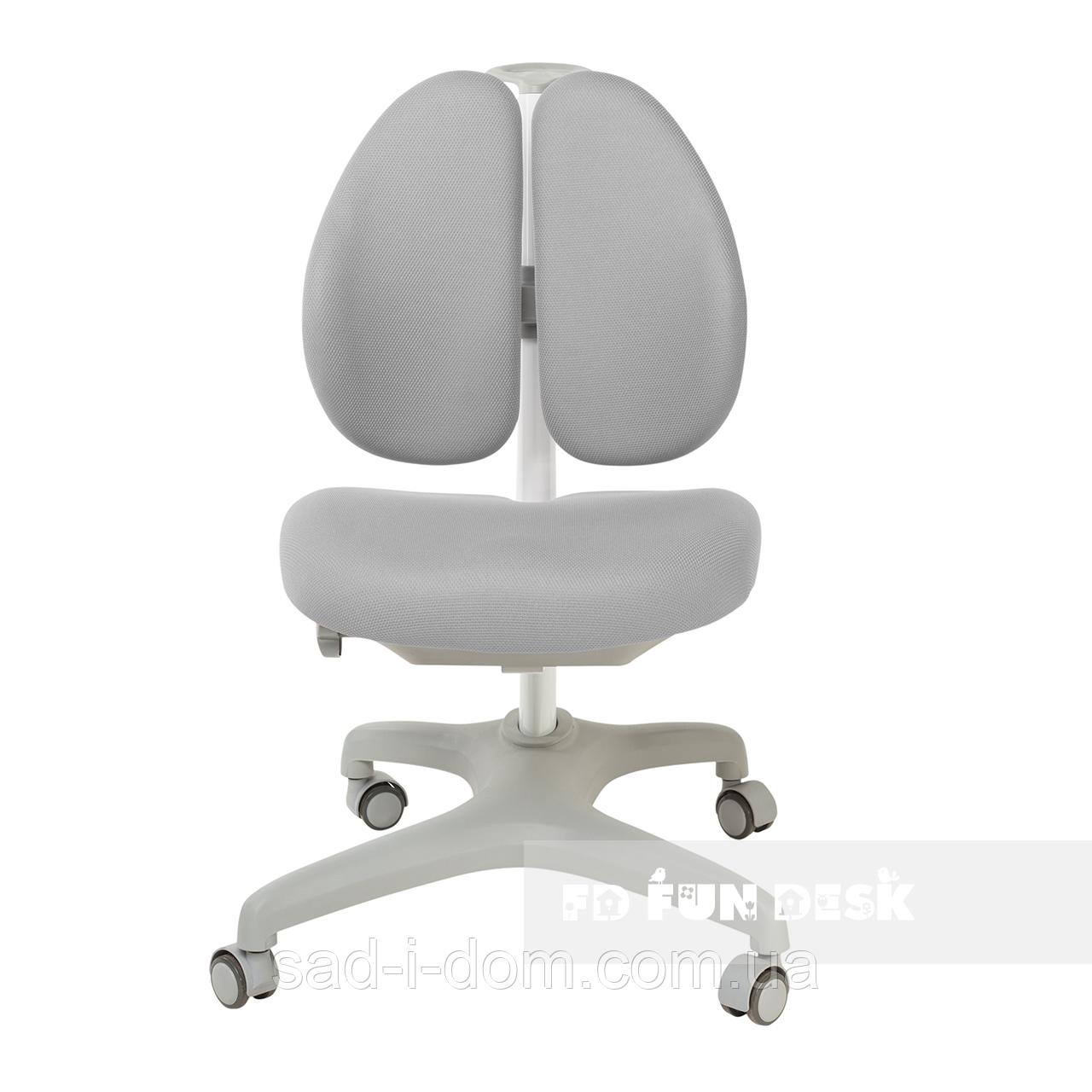 Детское компьютерное ортопедическое кресло  FunDesk Bello II, серое