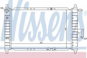 Радиатор охлаждения Матиз (01-) 0.8-1.0 MT , NisSens, 61646