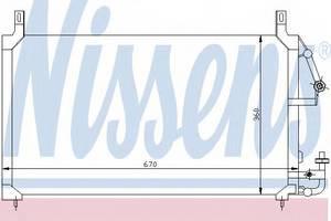 Конденсатор кондиционера Нексия , NisSens, 94424