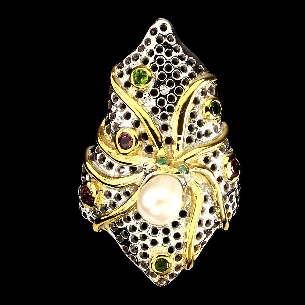 Серебряное кольцо  .Размер 19