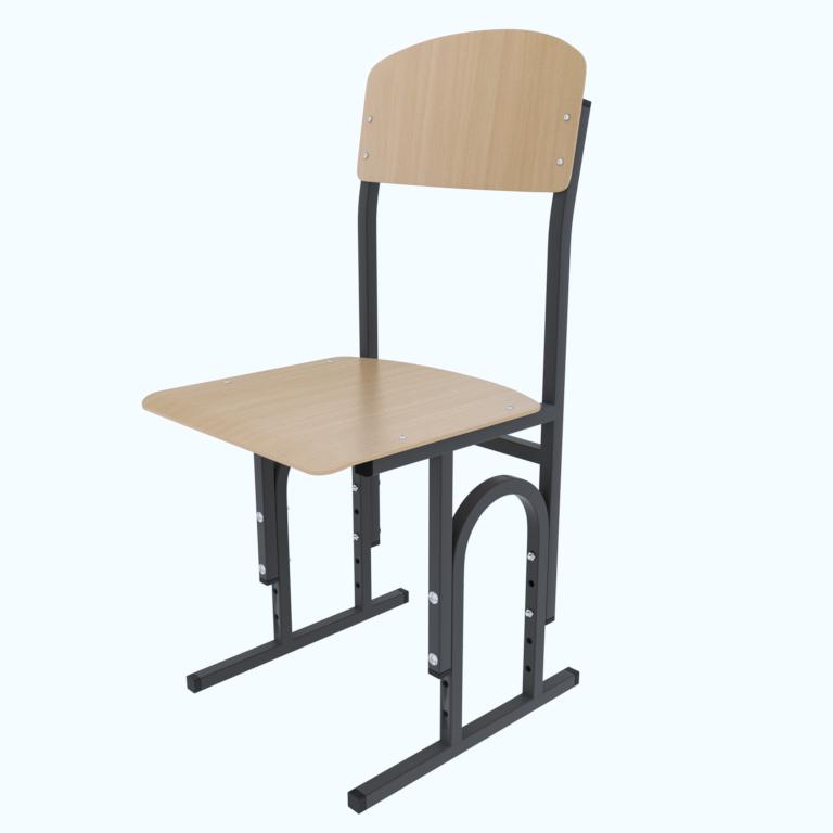 Шкільний стілець Кадет П-подібний c гнутої фанери