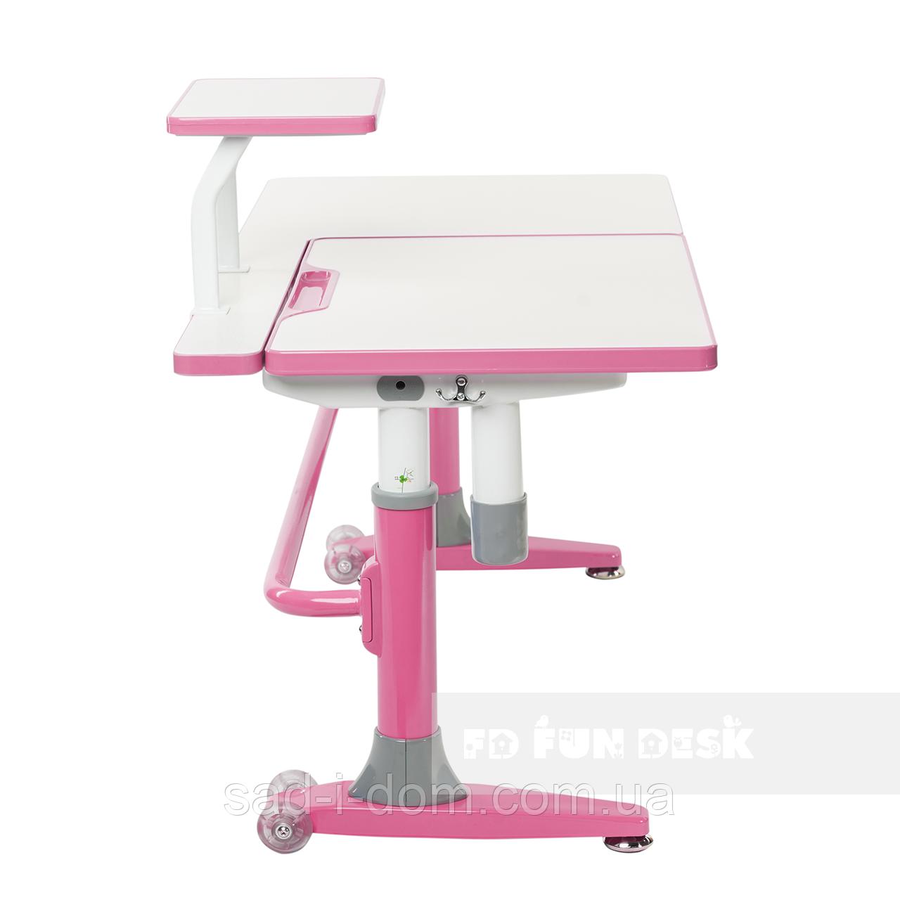 Парта-трансформер для школьника FunDesk Ballare, розовая