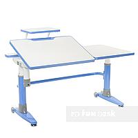 Парта-трансформер для школьника FunDesk Ballare, голубая, фото 1