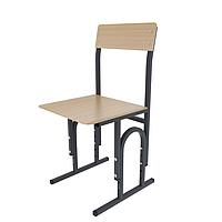 Школьный стул Кадет П-образный c прямой фанерой
