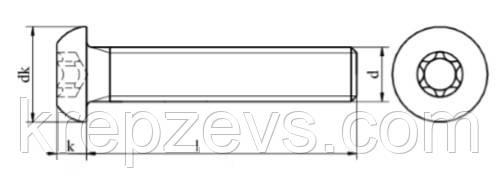 Винт ISO 7830 купить
