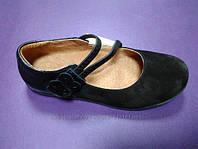 Замшевые туфли 31,37 р. Eleven Shoes на девочку в школу