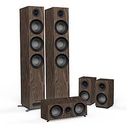Комплект акустических систем 5.0 Jamo S 809 HCS Walnut