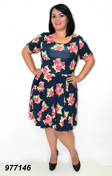 Легкое платье летнее 50,52,54,56