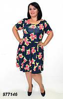 Легкое платье летнее 50,52,54,56, фото 1