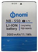 Оригинальный аккумулятор Nomi i550 Space (3000mAh) NB-550 (батарея, АКБ), Оригінальний акумулятор Nomi i550 Space (3000mAh) NB-550 (батарея, АКБ)