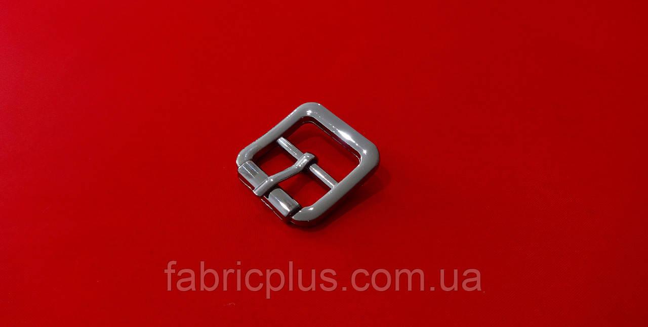 Пряжка металлическая 20 мм черненная