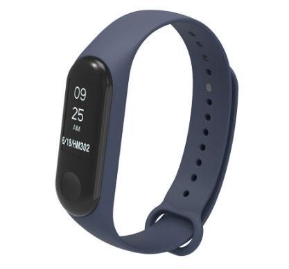 Силіконовий ремінець Primo для фітнес-браслета Xiaomi Mi Band 3 - Navy Blue