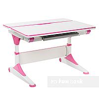 Парта-трансформер для школьника FunDesk Trovare, розовая, фото 1