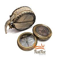 Подарочный компас в футляре London