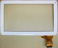 Оригинальный тачскрин / сенсор (сенсорное стекло) для GoClever Terra 101 (белый цвет, самоклейка)