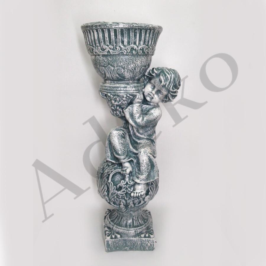 Статуетка - кашпо Орфей 65см