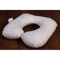 Детская льняная дорожная подушка ЛинТекс, фото 1