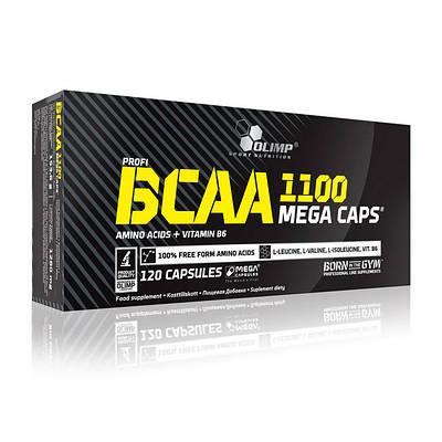 Аминокислота Olimp BCAA Mega Caps 1100 (120 caps)
