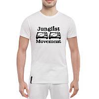 Футболка с печатью принта Junglist Movement, фото 1