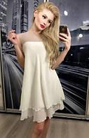 """Женское шифоновое платье  (жіноче плаття ) """"Камалия"""""""