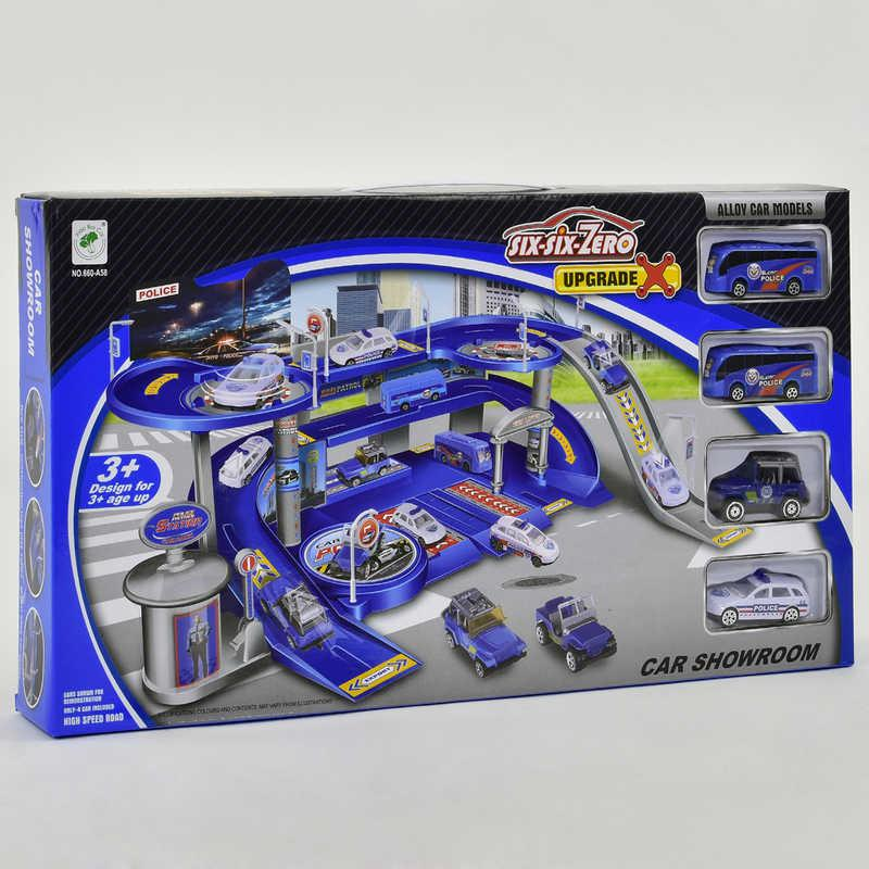 Гараж Полицейская парковка 660 А-58 (24) в коробке