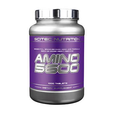 Аминокислота Scitec Nutrition Amino 5600 1000 (tabs)