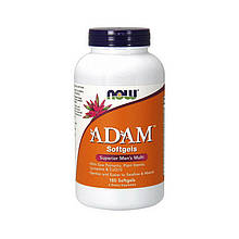 Витамины NOW Adam (180 softgels)