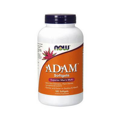 Витамины NOW Adam (180 softgels)