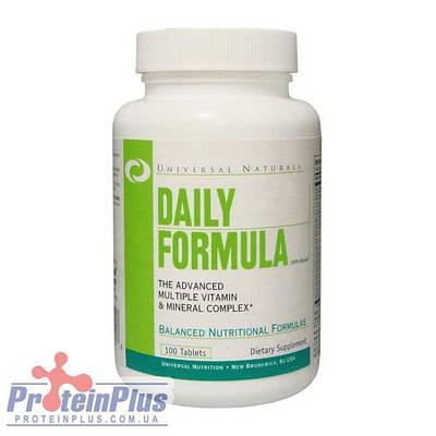 Витамины Universal Daily Formula (100 tabs)